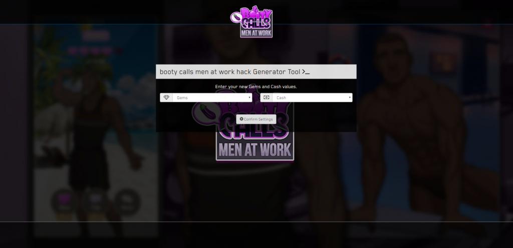 booty calls men at work hack apk